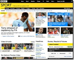 BBC Sport Site Built on a Solid Linked Data Foundation
